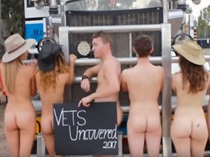 WARNING NUDITY: Vets Uncovered