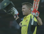 Warner scores 106. Australia wins series.