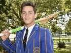 Cricketer, Nathan Carroll, a student at Toowoomba Grammar School, selected in the Under 17 State team. September 6, 2016