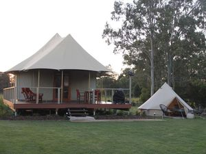 Look at Coast glamping resort's new offering parents will love
