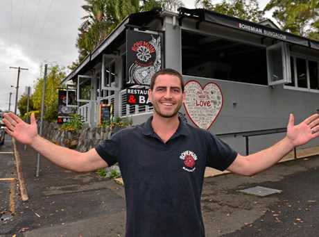 Bohemian cafe in Eumundi has changed hands and new owner Ned Nolan has a focus on local produce.  Photo: John McCutcheon / Sunshine Coast Daily