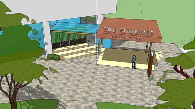 NEW FUTURE: Artists impressions by Deicke Richards architect Phil Smith of the new Soundhouse in Nambour.