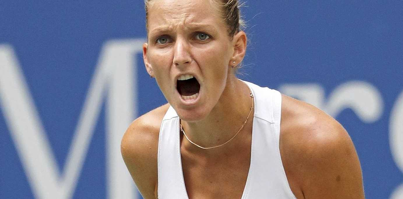 Karolina Pliskova of the Czech Republic defeated Serena Williams.