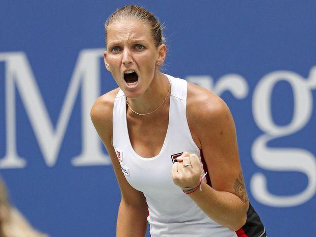 Karolina Pliskova of the Czech Republic defeated Serena Williams.