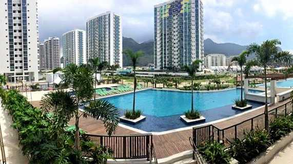 The view from the Paralympic Village in Rio.