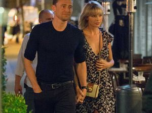 Taylor Swift and Tom Hiddleston on the rocks