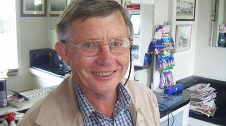 Denis Hanrahan- of Bridge St Barber Shop.