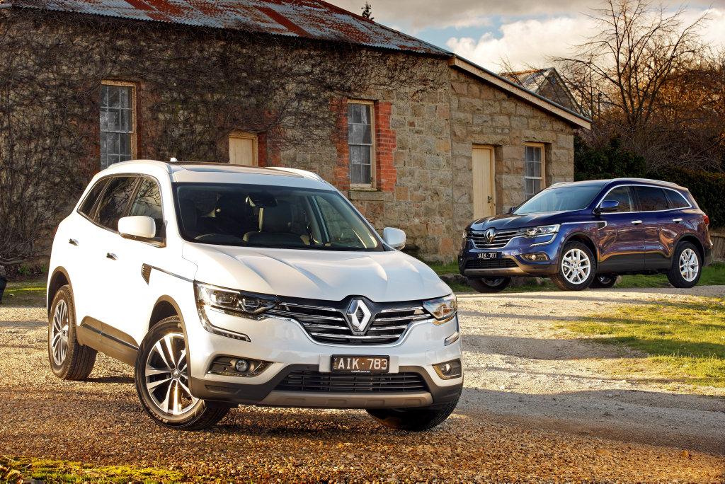 2016 Renault Koleos Intens and Zen. Photo: Contributed
