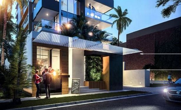 An artist's impression shows the planned outcome for SeaBreeze Mooloolaba.