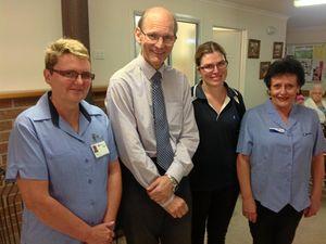 Toogoolawah Doctor's 25 year Blue Care service