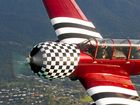 Yak 52 Soviet trainer takes off over Airlie Beach