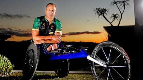 Tweed Heads Para Olympic athlete, Bill Chaffey is gearing up for the 2016 Rio Para Olympic Games and he has just helped to launch the Tweed Shire Access and Inclusion Awards.