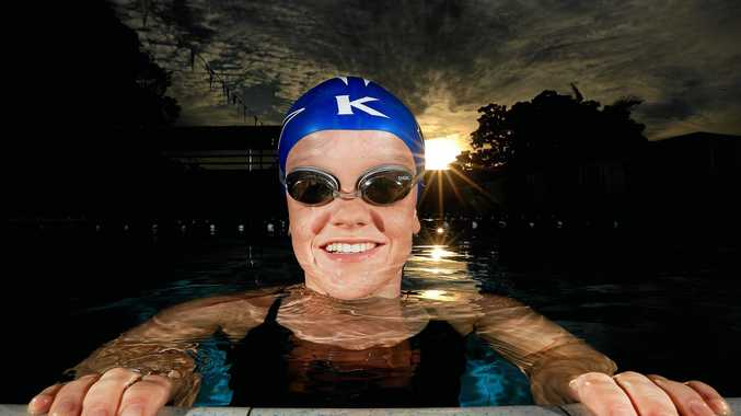 Kingscliff swimmer Kate Wilson, a student at Mount St Patrick College at Murwillumbah, is competing in Rio in the Paralympics.