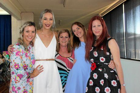 Tessa Lane, Alleira Stace-McInerney, Denise Stevenson, Jamie-Lee Lane and Kate Doust.