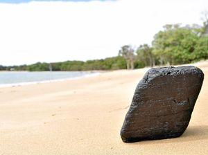 How did it get here? 150km coastal swim for beached coal?