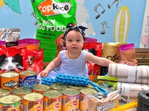Could this be Australia's most generous toddler?