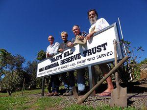 Villagers rescue war memorial