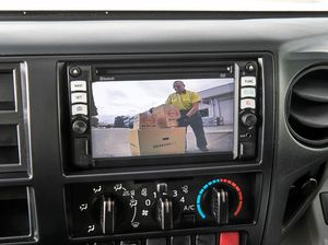 CLEAR VISION: The Hino 300 Series is the first light-duty truck range to feature a reverse camera as standard equipment.
