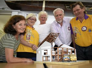 Lions help house history