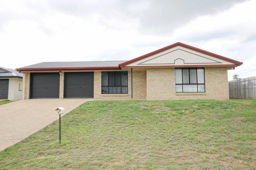 5 Morrell St, Gracemere listed with Kas Woch Real Estate.