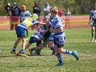 The best of the action from Ipswich hockey and rugby league grand finals.