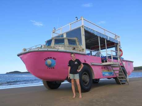 SEA SHEPHERD SUPER-HERO: Wyanda Lublink, part-time 1770 LARC skipper, part-time skipper of a Sea Shepherd vessel saving whales.