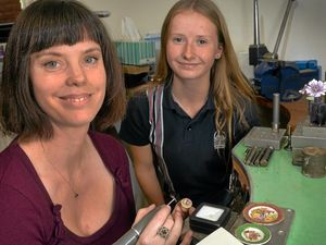 Valuable lessons for teens as jewellers teach their trade