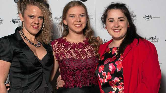 Emerging Designer entrants (from left) Tonia Pawlyszyn, Ashley Duff and Maddy Mengal look forward to the event.