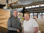 URBAN FOOD:  Tony Kelly (left) and Scott Hoskins are bringing  Hello Harry and Junk to the Walton Stores in Toowoomba. Thursday Sep 08 , 2016.