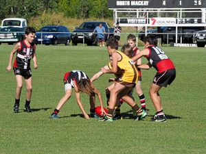 How cross-town rivals shape up for U12 Aussie Rules grand final