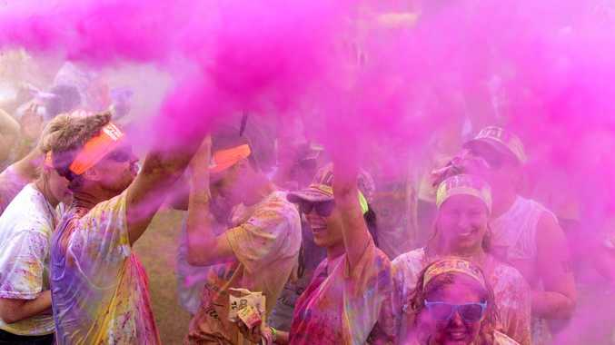 A 'Colour Dash' event is headed Mackay's way in March next year.