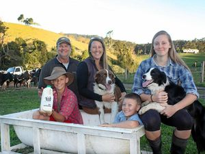 Community gives $17,000 to help save dairy industry