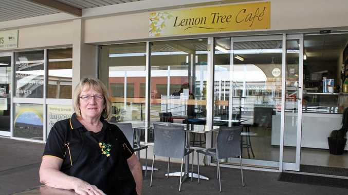 Lemon Tree Cafe owner Judy Balle says everyone in Middlemount worries about what's in store for the mining town.