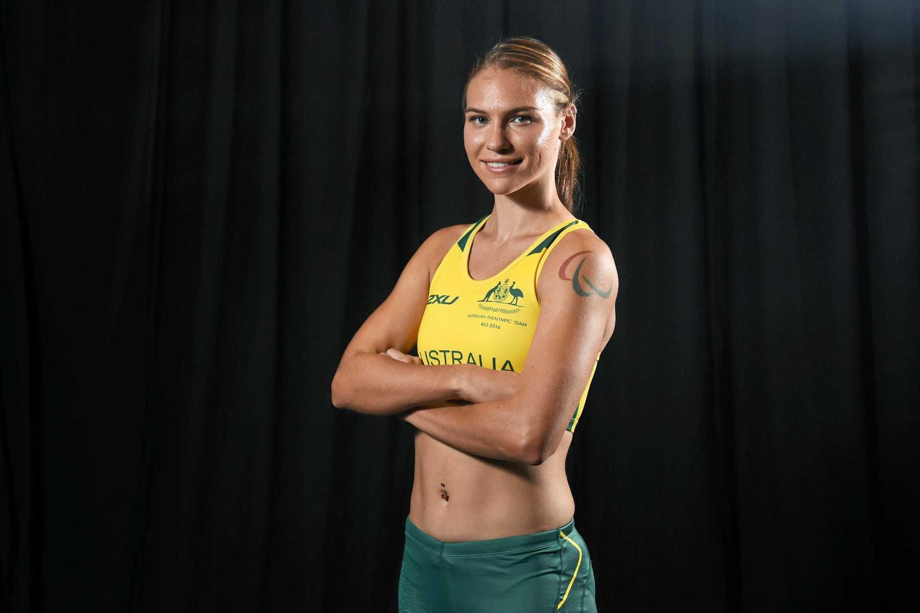Australian Paralympic team member Torita Isaac.