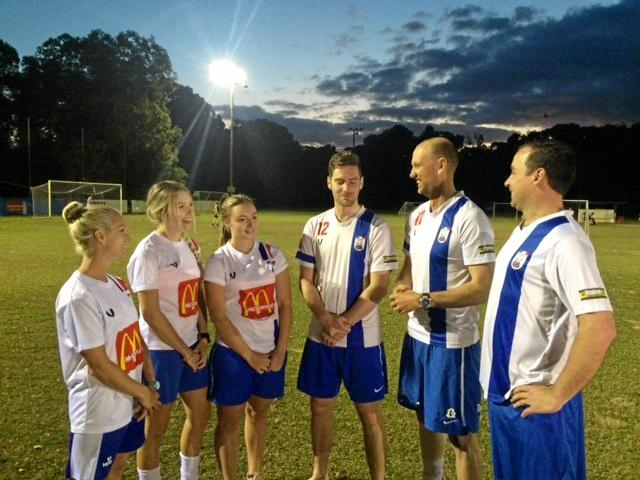 OUTSTANDING: The Woombye Snakes senior captains are ready for the weekend ahead.