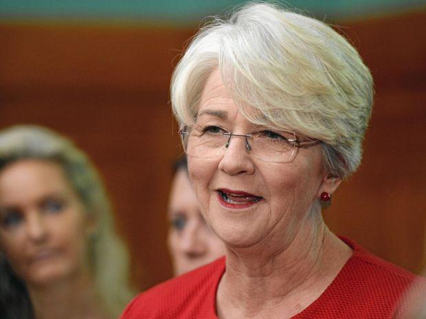 Rockhampton  Mayor Margaret Strelow