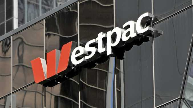 Westpac signage in Sydney, Friday, Oct. 23, 2015. More Australian homeowners are facing higher mortgage repayments after the National Australia Bank became the third major lender to hike its standard variable home loan interest rates. (AAP Image/Joel Carrett) NO ARCHIVING