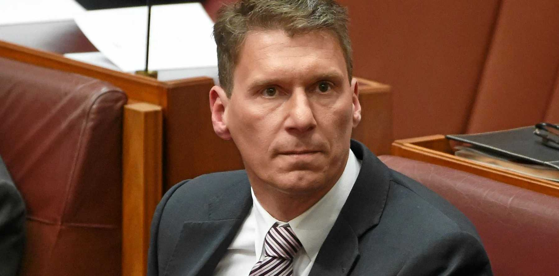 Liberal Senator Cory Bernadi is leading the charge to change the racial discrimination laws.