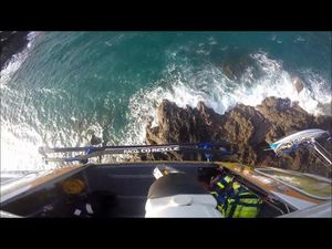 RACQ CQ Rescue rescuing sailor from Percy Island
