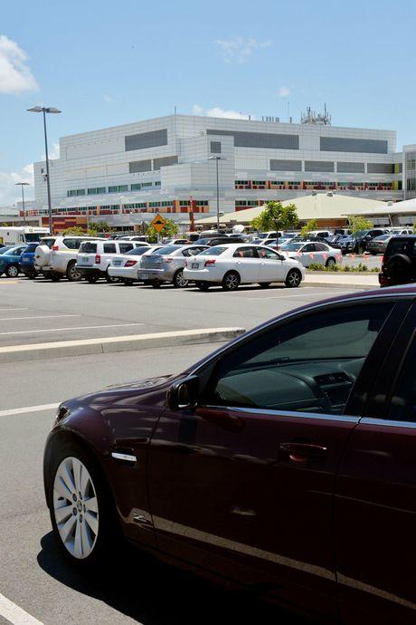 Car parking at Mackay Base Hospital.