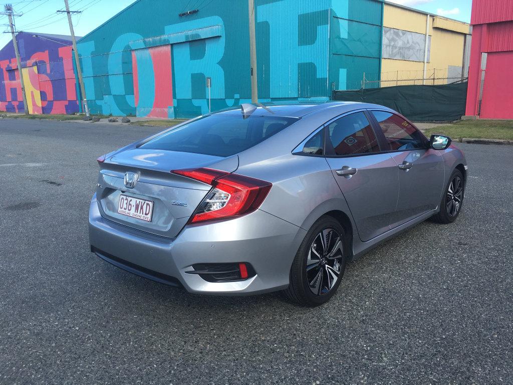The 2016 Honda Civic sedan.