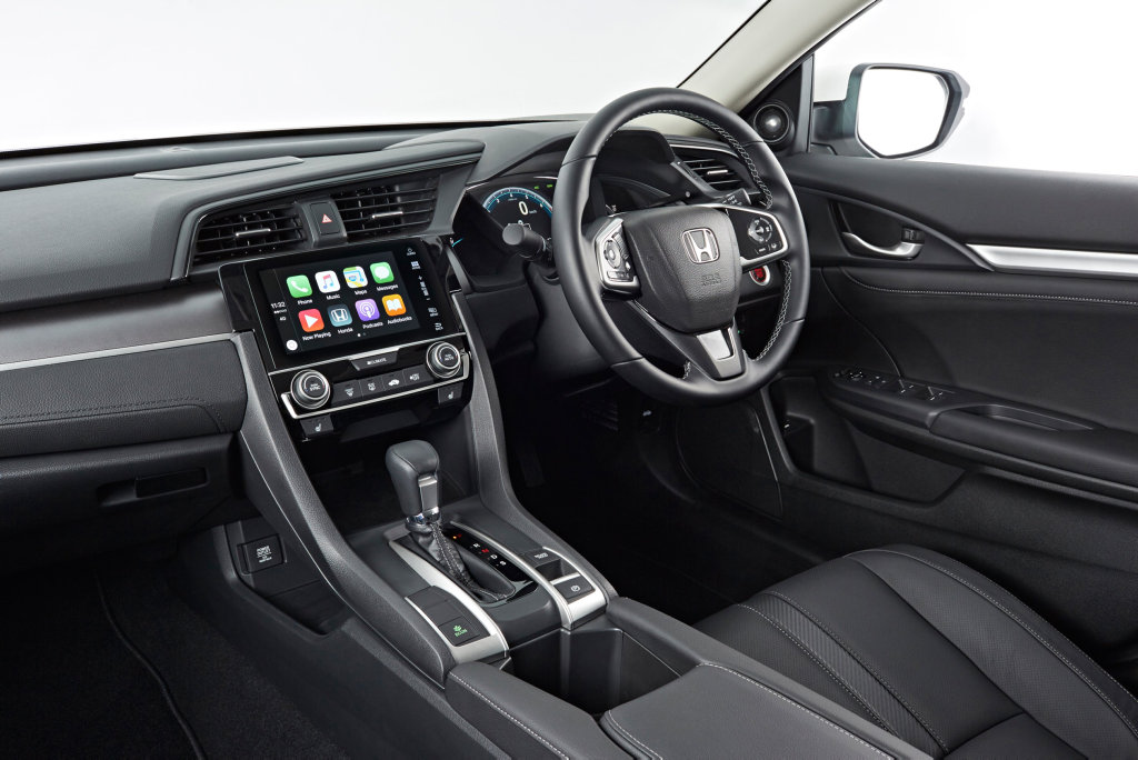 The 2016 Honda Civic sedan.