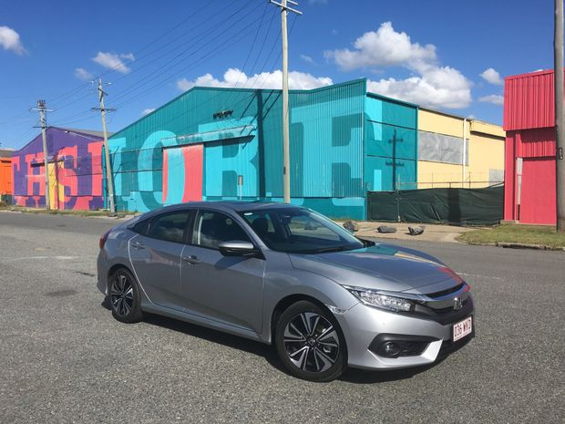BIG ON SPACE: The new tenth-gen Honda Civic sedan is much-improved over its predecessor in terms of dynamics and kit