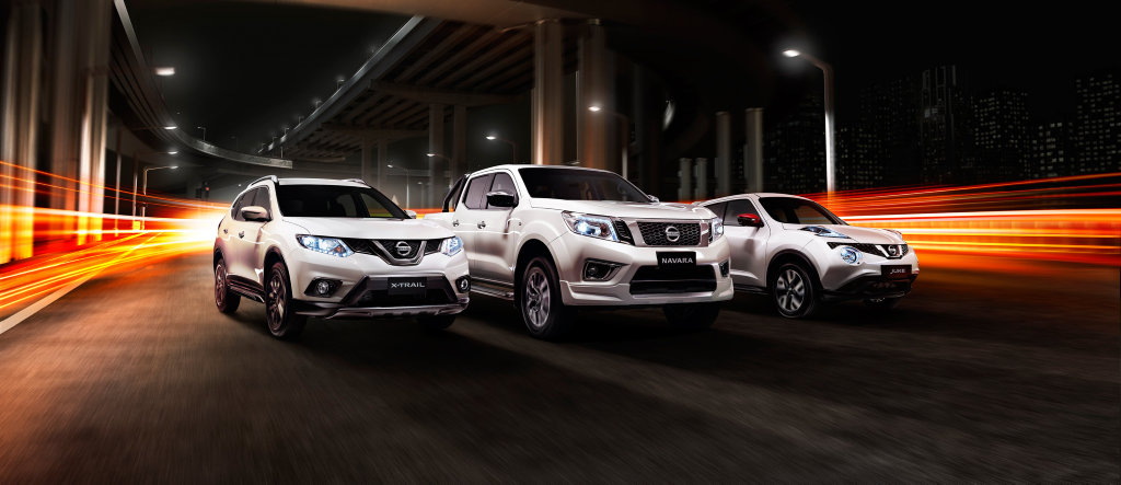 KITTED OUT: N-Sport specials for Nissan Navara, X-Trail and Juke feature local and factory fitted accessories.