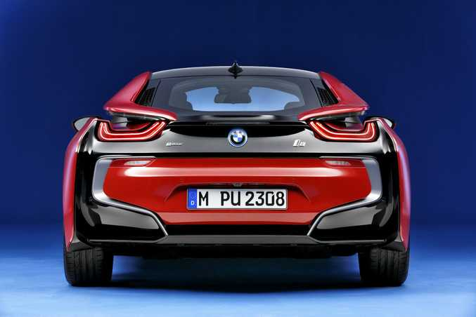 BMW i8 Protonic Red Edition. Photo: Ralph Wagner