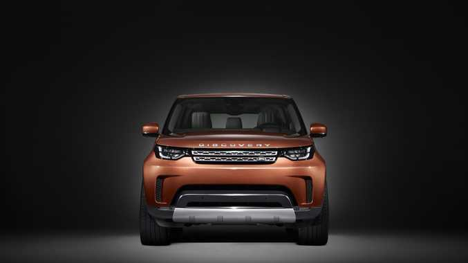 DISCO FEVER: All-new and more rounded Land Rover Discovery is just one model teased ahead of its Paris Motor Show launch