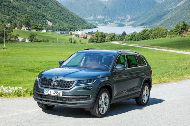 The seven-seat Kodiaq SUV arrives in Australia in the next few weeks.