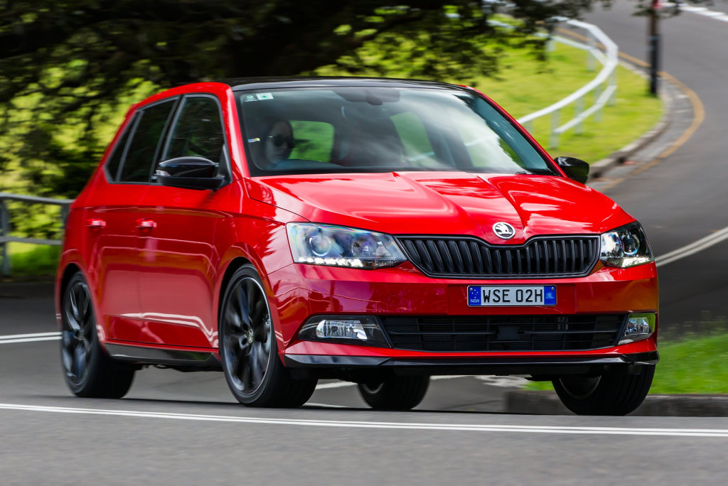 2016 Skoda Fabia Monte Carlo. Photo: Contributed
