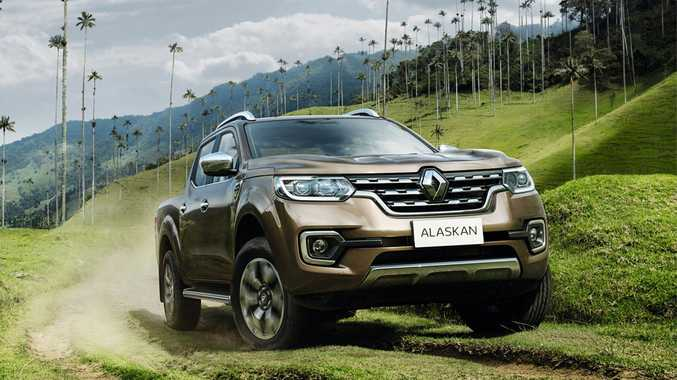 2017 Renault Alaskan double-cab ute. Photo: Contributed