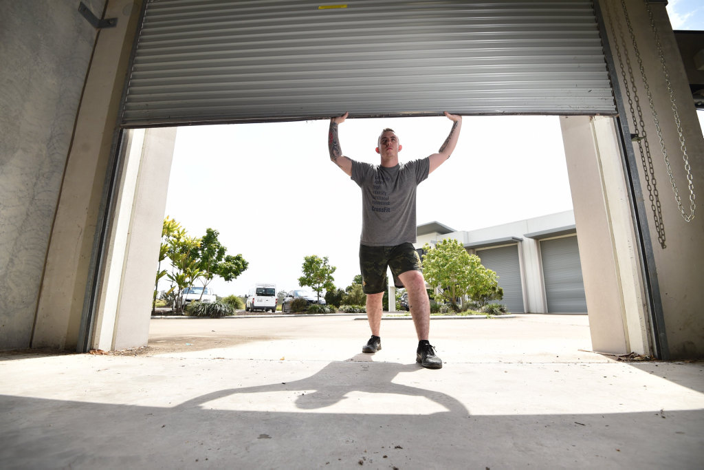 Rob Attenborough will open the doors to Fraser Coast CrossFit Maryborough next month.
